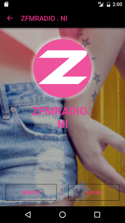 ZFMRADIO . Nl: screenshot