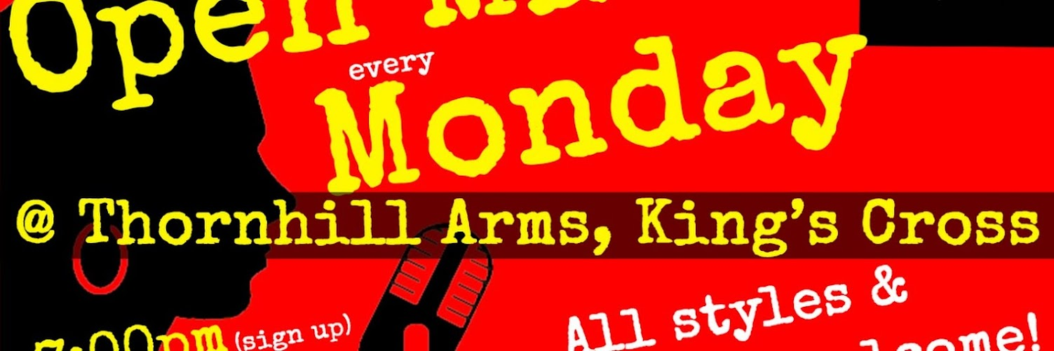 UK Open Mic @ Thornhill Arms in King's Cross on 2019-02-25