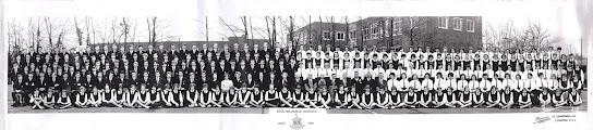 Photo: Diss Grammar School – 1964. (Before Eye).   (Thanks to Ann Thrower)