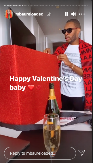 Inside Khanyi Mbau and Kudzai's Valentine's Day celebrations.