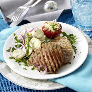 Minute Steak with New Potato Salad