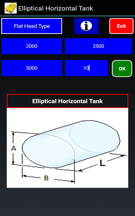 Tank Volume Calculator Promo Android Apps On Google Play