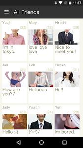 leaves:Friends,Matching,SNS screenshot 0
