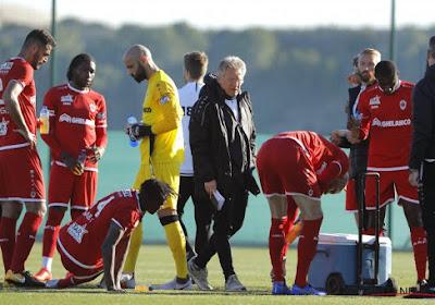 Antwerp verliest met 0-2 van NAC Breda in een oefenpot