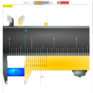 Vernier Calipers Simulator- screenshot thumbnail
