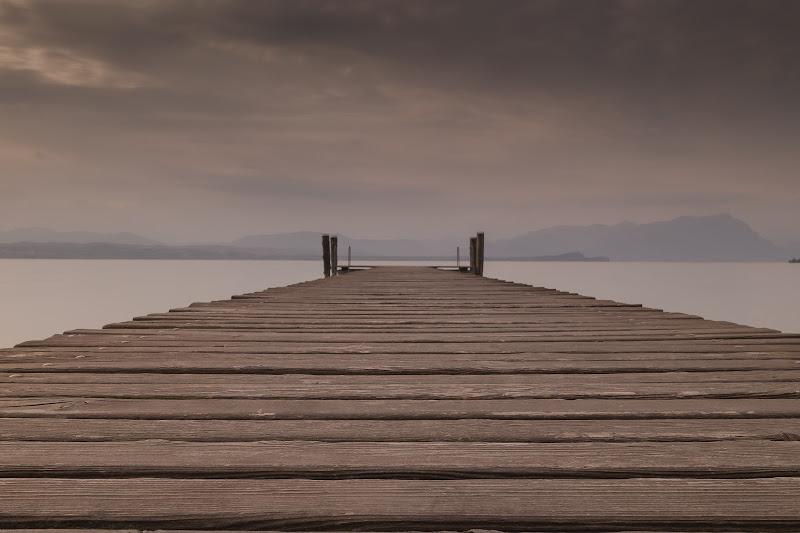 Tramonto sul pontile di Pierluigi982