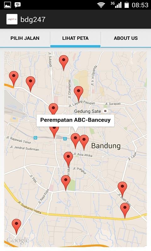 Bandung 247- screenshot