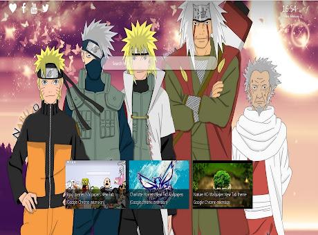 Naruto Background wallpaper New Tab
