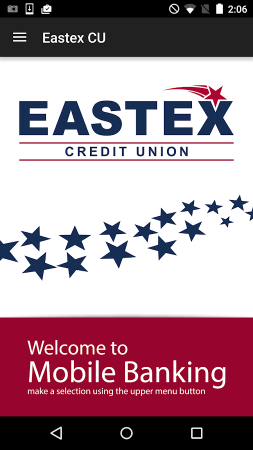 Eastex Credit Union- screenshot