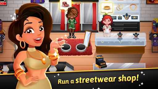 Hip Hop Salon Dash - Fashion Shop Simulator Game 1.0.3 screenshots 1
