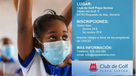 El Club de Golf Playa Serena organiza su torneo solidario para UNICEF
