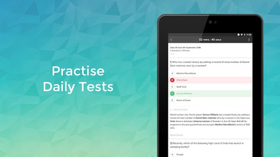 Gradeup: Free Exam Preparation- screenshot thumbnail