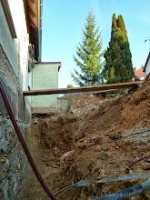 Photo: Damit endet dann der Fotobericht vom 02.10.2013 nächstes Bild zeigt noch wohin der Wassertank soll und dann geht es in den Feiertag, der vermutlich dazu da sein wird um die Fundamentfrage vom Anlehngewächshaus zu klären.