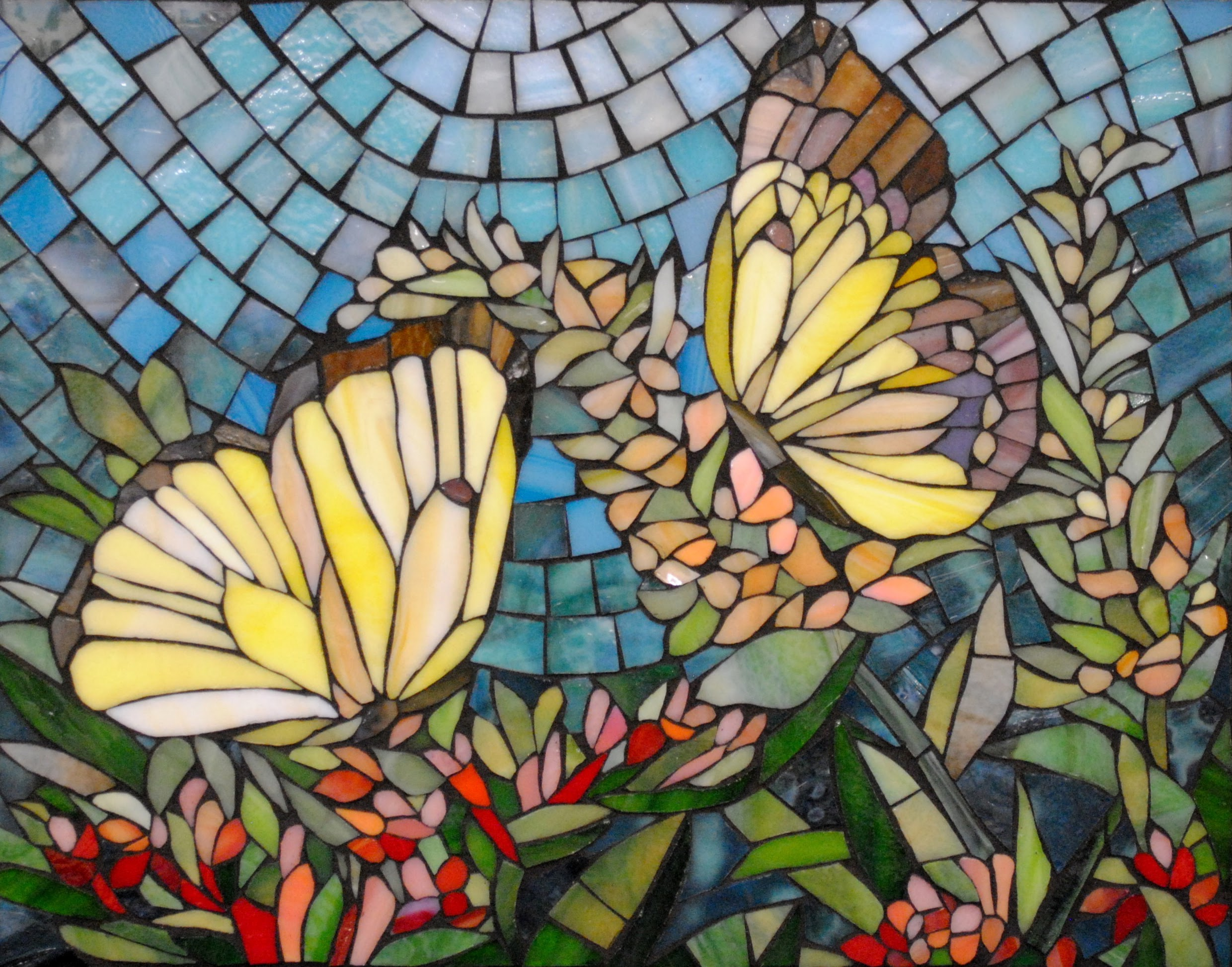 Butterfly Meadow by Brenda Pokorny