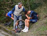 Andrea Bagioli en Michal Kiwatkowski kwamen ten val tijdens Trofeo Laigueglia