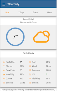 Weather by Weatherly Pro Screenshot