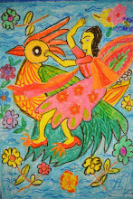 Photo: Junia Rebecca Morris - Age 11 Children's Art Circle Mawatha, Colombo
