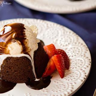 Chocolate molten lava cake- guest poster Chelsea