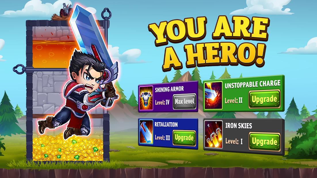 Hero Wars – Hero Fantasy Multiplayer Battles Android App Screenshot