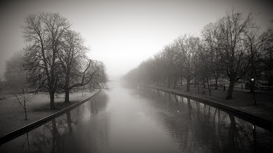 Photo: The River Great Ouse, Bedford UK. A very cold and foggy December morning.