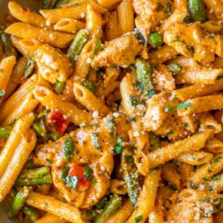 Cheesecake Factory Spicy Chicken Chipotle Pasta.