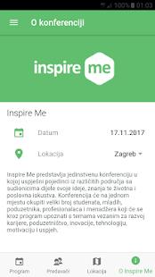 Inspire Me konferencija - náhled