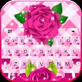 Pink Roses Keyboard Theme APK