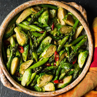 Stir Fry With Cabbage And Asparagus Recipes.