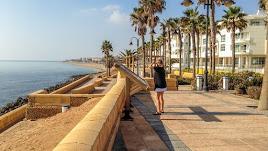 Playa Serena, en Roquetas de Mar.