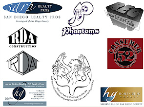 Photo: A variety of logos for products, as well as clients, from 2005 - present. I seem to get a lot of construction and Real Estate agents for clients. the Phantoms was one of my daughter's soccer teams. Consumer52 is a project a good friend of mine is championing. The center bottom logo was a tee shirt idea/logo for The Voices of Praise choir I used to sing in with my buddy, Derek Morris.