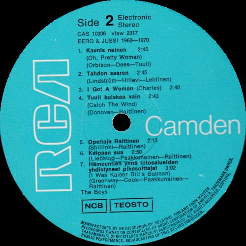 LP-etiketti (B)