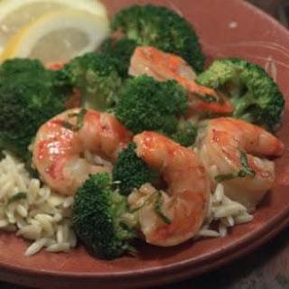 Shrimp with Broccoli.
