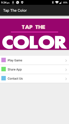 Tap The Color Challenge