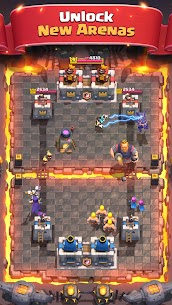 Clash Royale 2.0.1 MOD (Unlimited Gems/Crystal) Apk 5