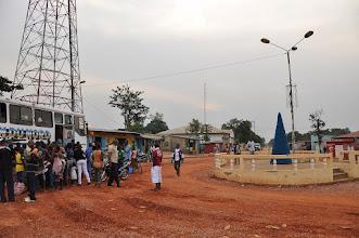 Photo: Makoua, city on the equator ...and a Christmas tree ;-)