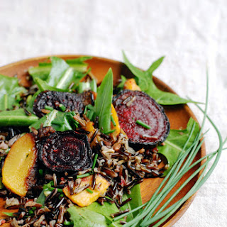 Wild Rice Salad With Dandelion Greens {sponsored Post}