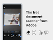 screenshot of Adobe Scan: PDF Scanner with OCR, PDF Creator