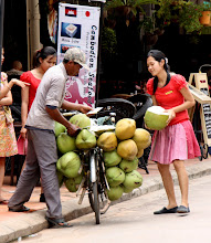 Photo: Year 2 Day 42 -  Coconut Seller