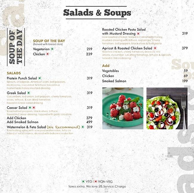 Aromas Cafe menu 6