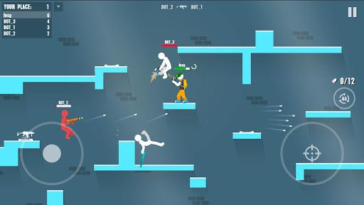 Stickman Battles: Online Shooter 1.0 screenshots 1