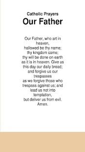 Katolické modlitby Náš otec - náhled