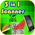 3 in 1 scanner icon
