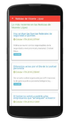 Noticias de Vicente Lu00f3pez  screenshots 1