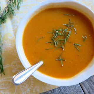 Crock Pot Sweet Potato Soup.