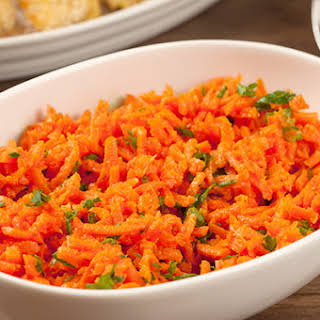 Spicy Carrot Salad.