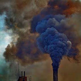 Little Smoke by Kenny Sutan Sati - Products & Objects Industrial Objects ( smoke )