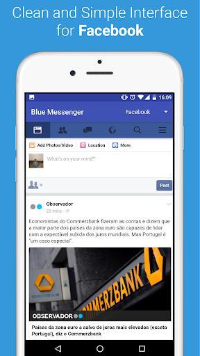 Blue Messenger 3.8.0 screenshots 2