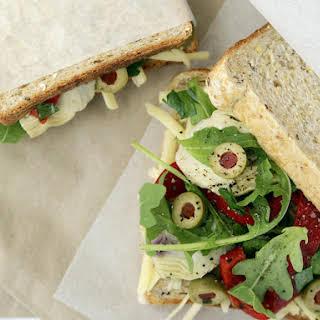 Mediterranean Style Sandwiches.