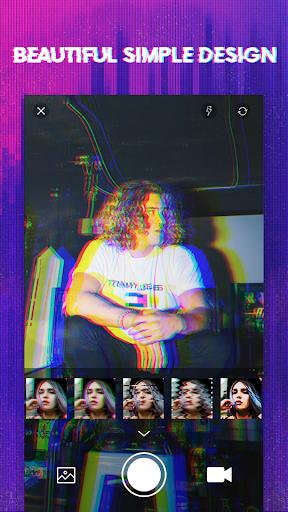 Foto do 3D Glitch Photo Effects - Camera VHS Camcorder