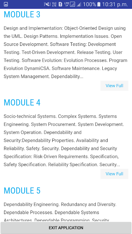 Software Engineering Android Apps Appagg